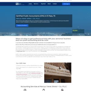 marcus fairall bristol + co., PLLC website