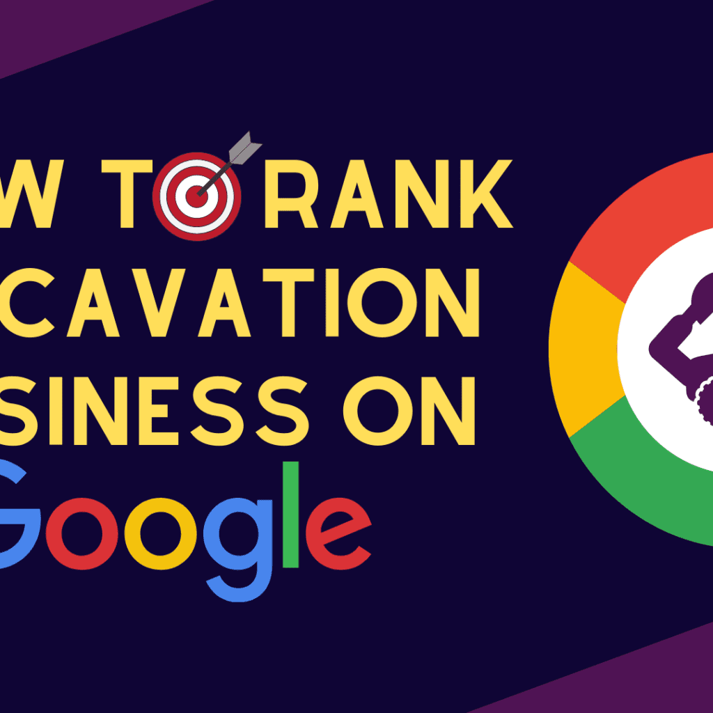 how to rank an excavation business on google