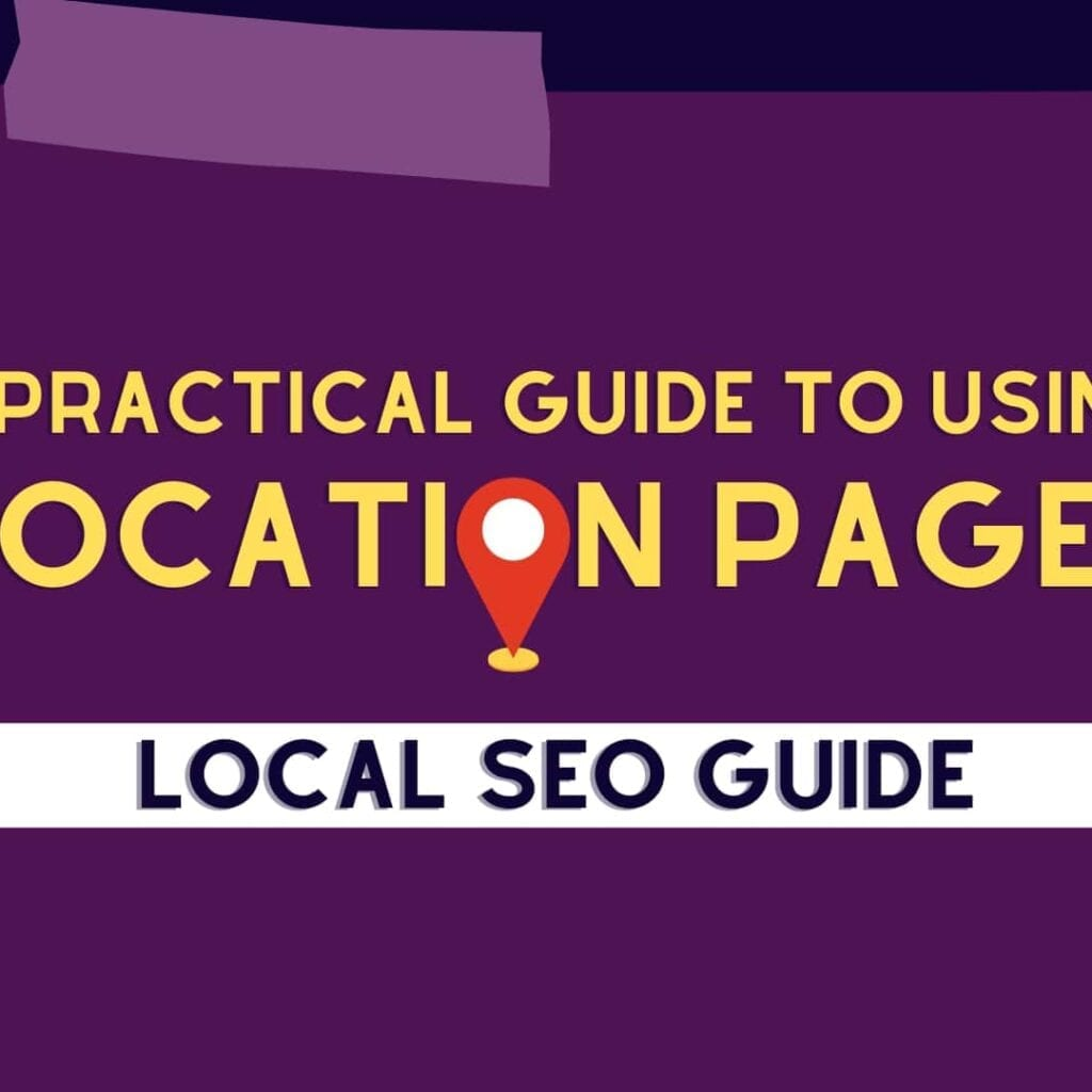 location page seo guide